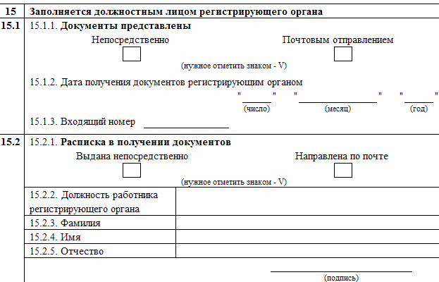 коды ОКВЭД и подпись ИП.